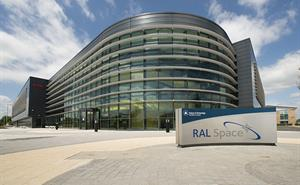 The entrance to RAL Space's space test facilities on Harwell Campus.