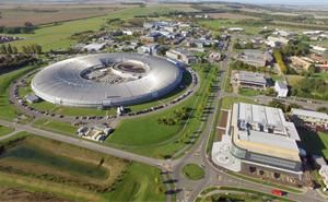 ​​Aerial view of RAL Space ​at the Rutherford Appleton Laboratory